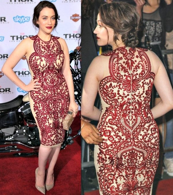 Kat Dennings at the Los Angeles premiere of 'Thor: The Dark World'