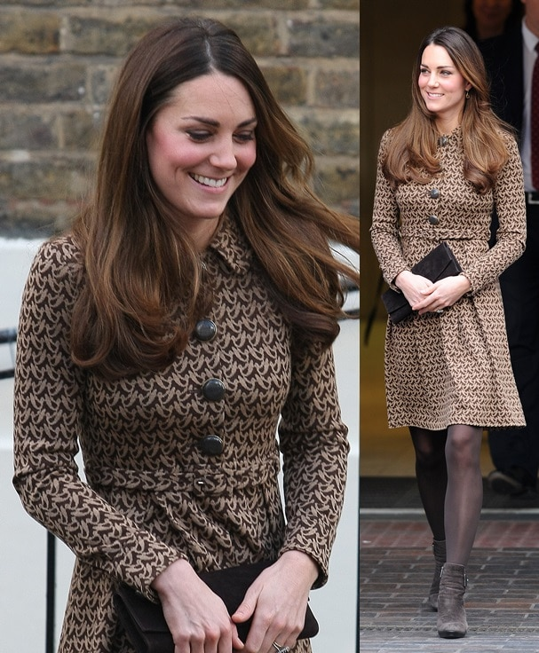 The Duchess of Cambridge at the Only Connect charity event in London on November 19, 2013