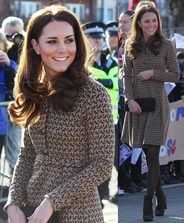 Kate Middleton made an appearance at Rose Hill School in Oxford, England, on February 21, 2012