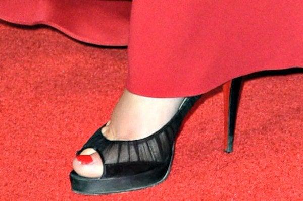 Kate Winslet wearing 'Ambrosina' pumps