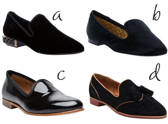 4 Black Loafers
