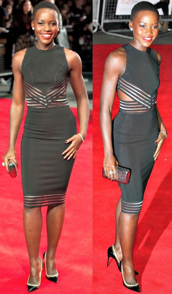 Kenyan actress and filmmaker Lupita Nyong'o stole the spotlight at the premiere of her film, '12 Years a Slave', during the 2013 BFI London Film Festival