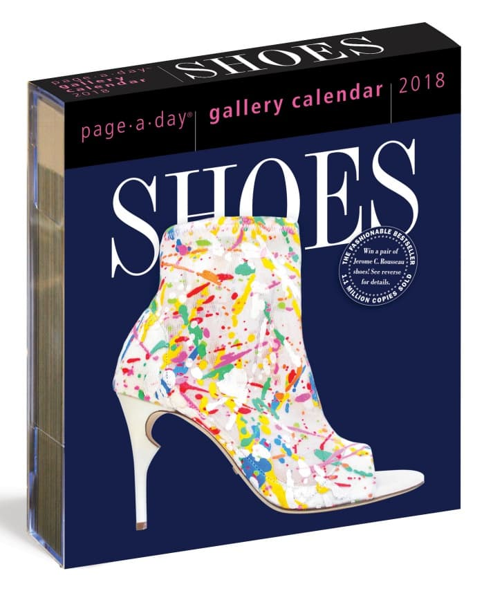 Shoes Page-A-Day Gallery 2018 Calendar