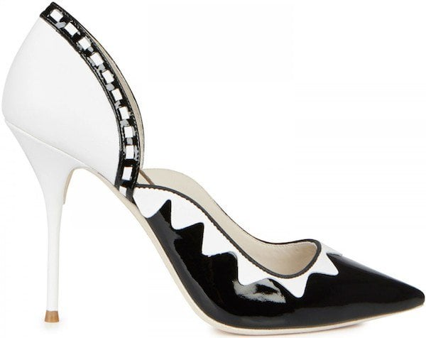 "Sophia Webster ""Ria"" Zigzag Detail Pump"