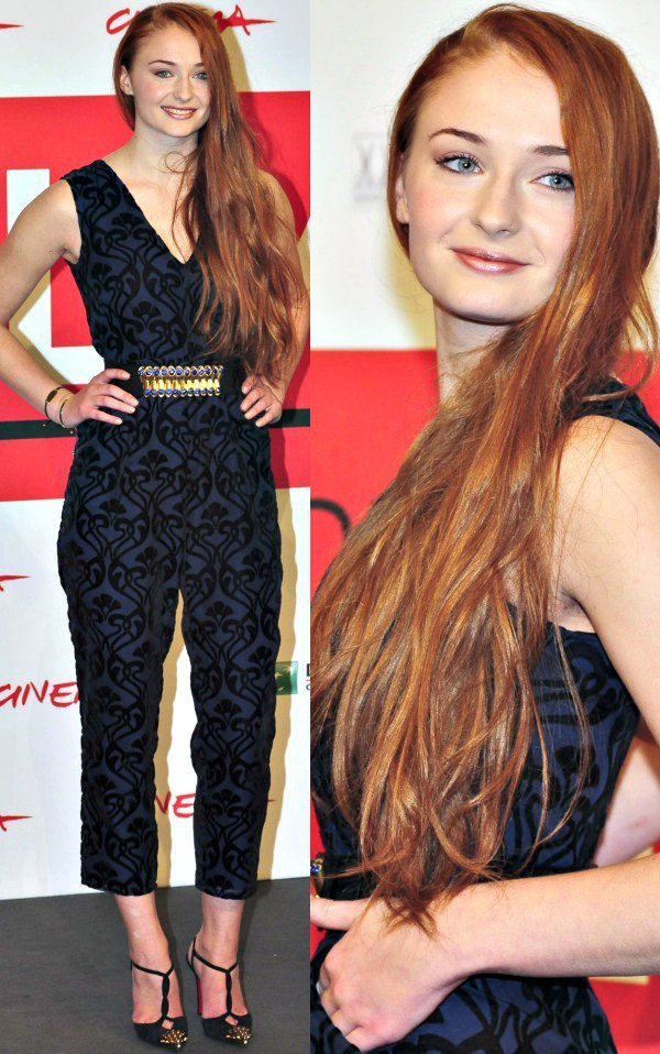 Sophie Turner at a photo call for 'Another Me' during the 2013 Rome Film Festival