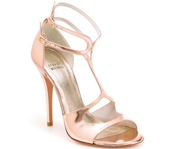 Latenite Sandal in Rose Gold