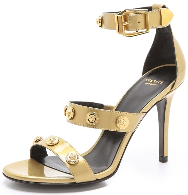 Versace Ankle-Strap Sandals