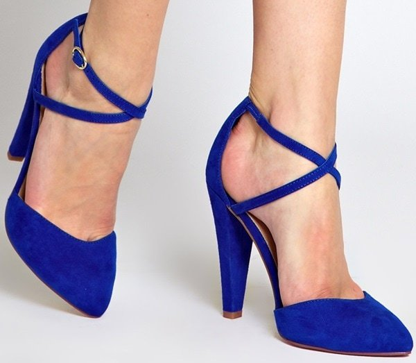 ASOS PARTIAL Pointed High Heels