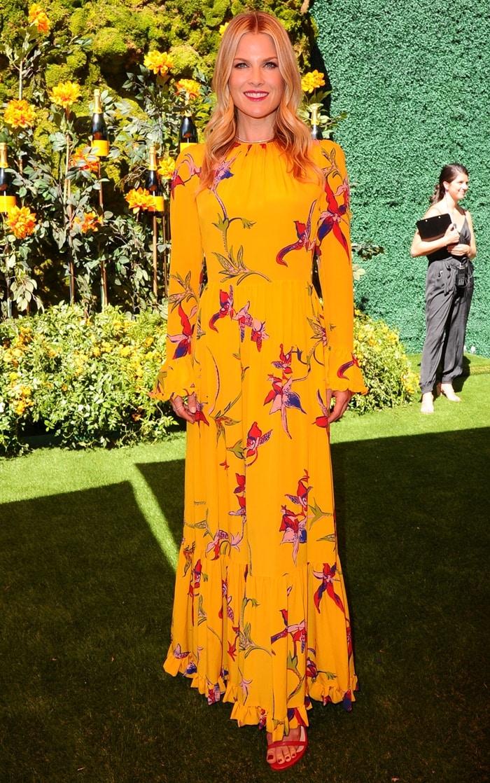 Ali Larter attends the 10th Annual Veuve Clicquot Polo Classic Los Angeles