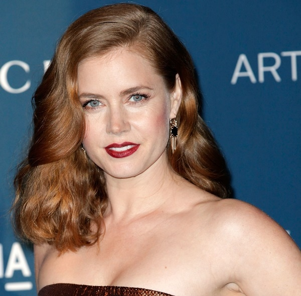 Amy Adams at LACMA's 2013 Art + Film Gala honoring Martin Scorsese and David Hockney and presented by Gucci in Los Angeles on November 2, 2013