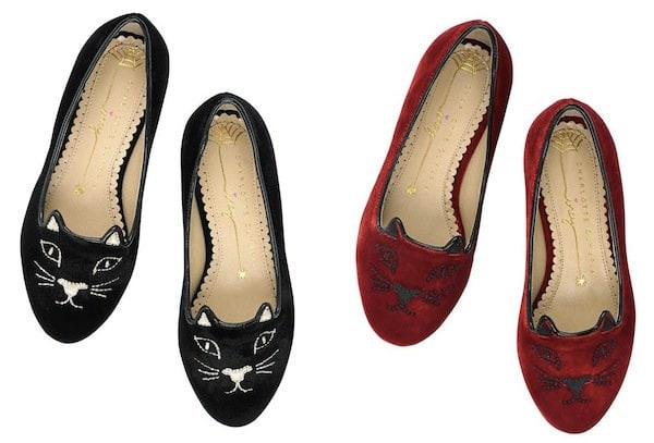 Charlotte Olympia Kitty Flats Adult