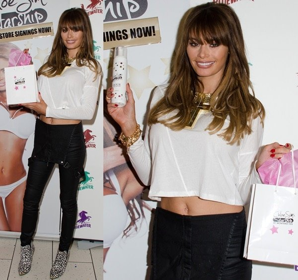 Chloe Sims launches her tanning range