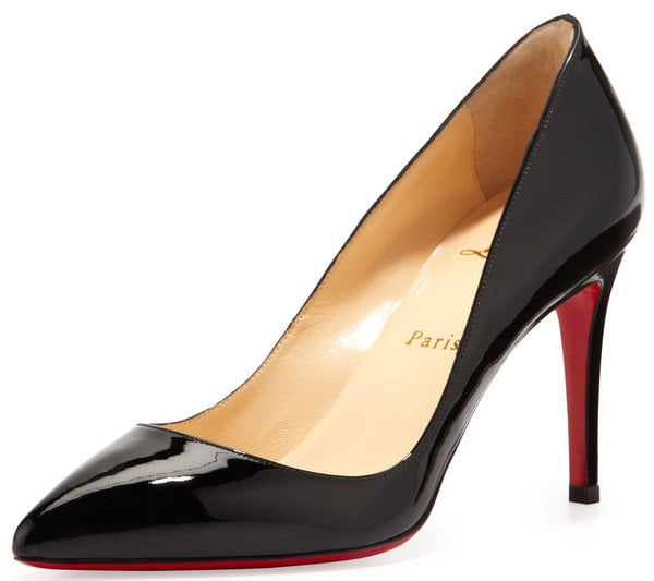 Christian Louboutin Pigalle Patent Red Sole Pump