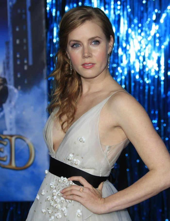 """Actress Amy Adams at the Los Angeles Premiere """"Enchanted"""""""
