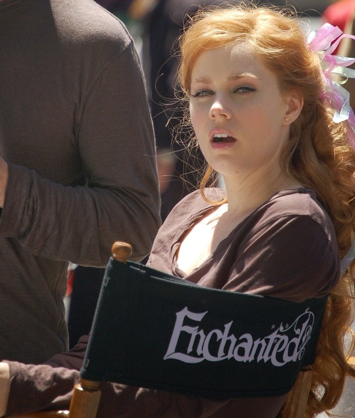 Amy Adams was 32-years-old when filming Enchanted