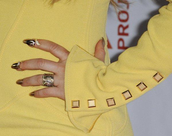 Fergie Christian Louboutin Loree Rodkin Ring