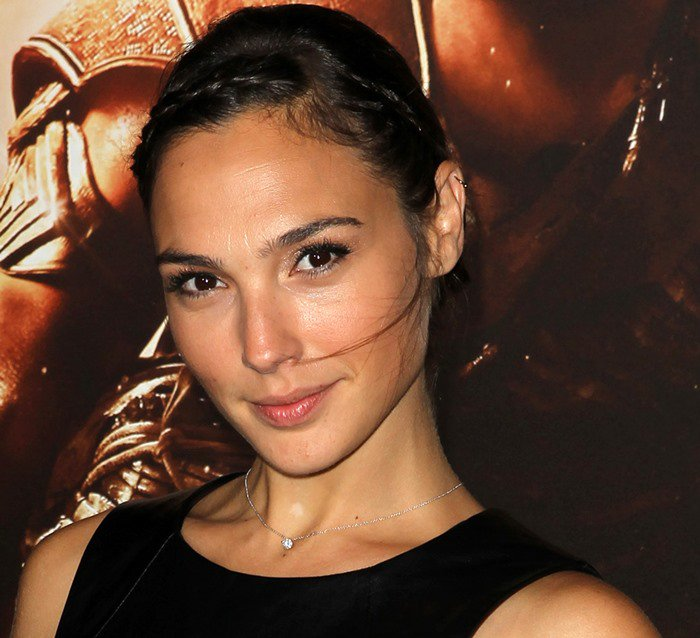 Gal Gadot attends the premiere of Riddick at the Mann Village Theatre