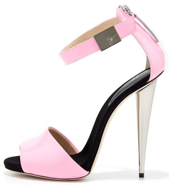 Giuseppe Zanotti High-Heel Neon Sandal