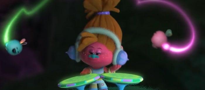 Gwen Stefani voices the cool troll DJ Suki in Trolls