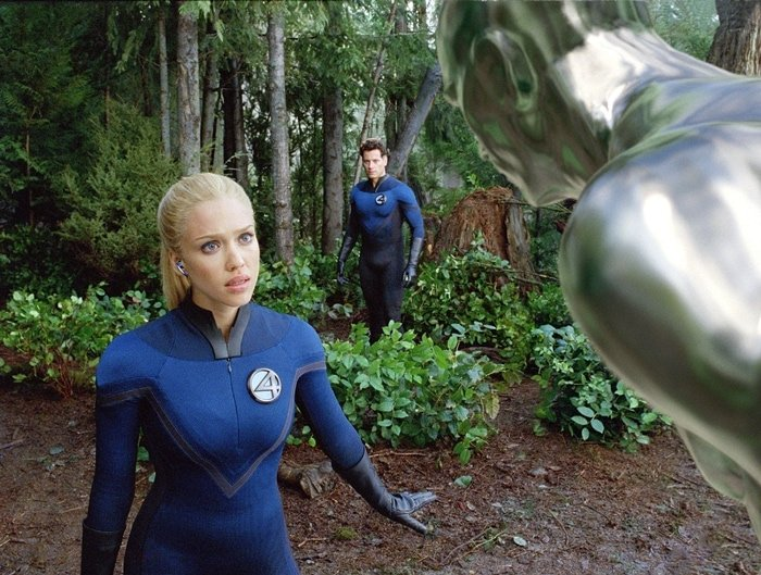 Jessica Alba as Susan Storm / Invisible Woman in Fantastic Four: Rise of the Silver Surfer, a 2007 American superhero film