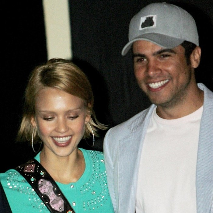 Jessica Alba and Cash Warren met on the set of The Fantastic Four
