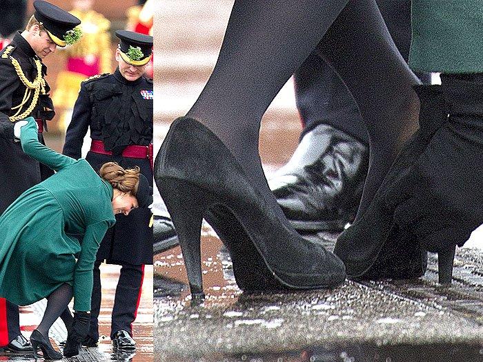 Kate Middleton stuck heel