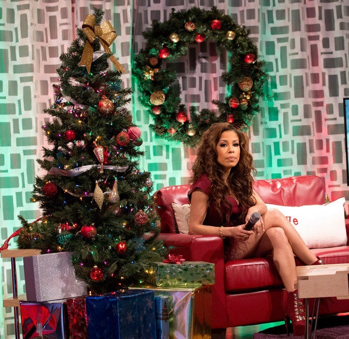 Keshia Chante hosted the show's Christmas Special