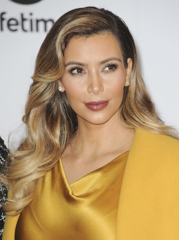 Kim Kardashian made sure her skin was all bronzed out