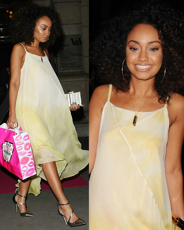 Leigh-Anne Pinnock at the 2013 Cosmopolitan Ultimate Women of the Year Awards held at the Victoria and Albert Museum in London on December 5, 2013