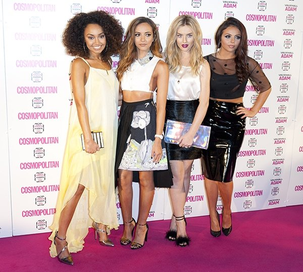 The members of the British girl group — Leigh-Anne Pinnock, Jade Thirlwall, Perrie Edwards, and Jesy Nelson — dressed to the nines for the event, where they took home the Ultimate Export award