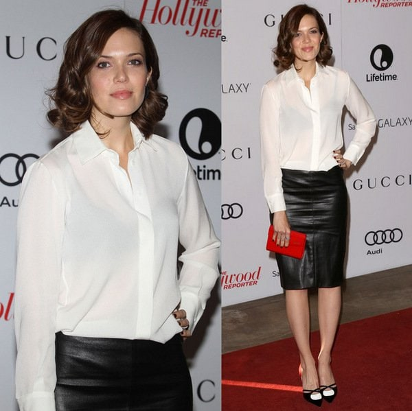 Mandy Moore atThe Hollywood Reporter's 22nd Annual Women in Entertainment Breakfast