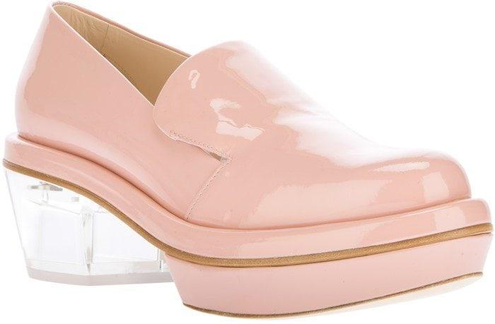 Nude Simone Rocha Platform Loafers
