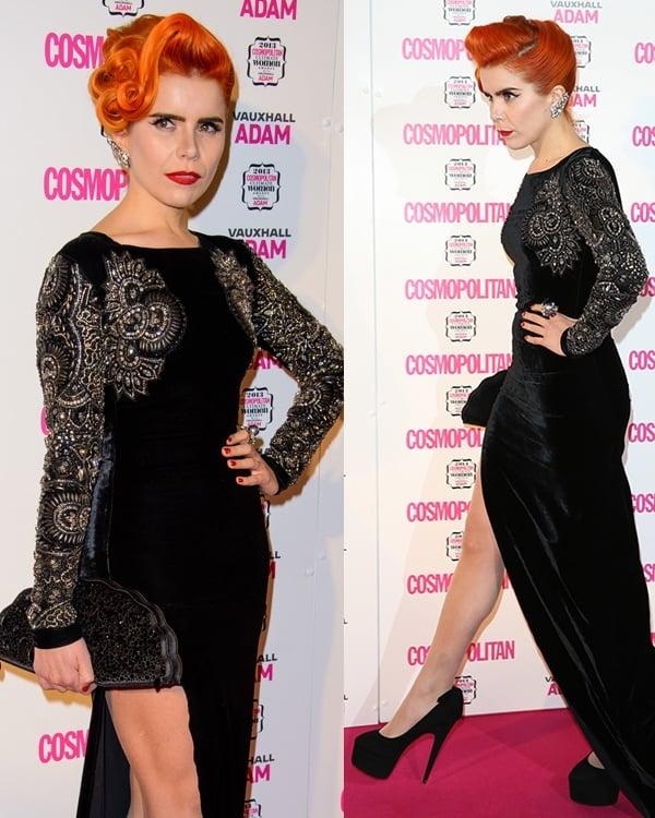 Paloma Faith Cosmopolitan Ultimate Women of the Year Awards