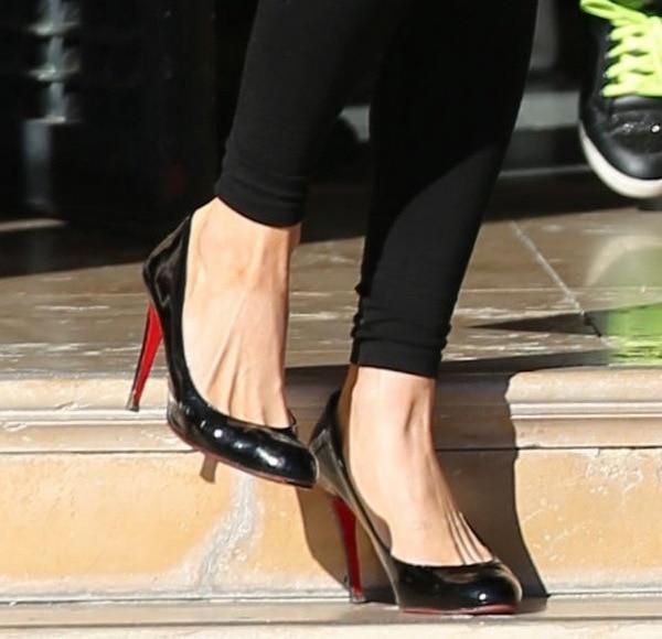 Paris Hilton in Christian Louboutin