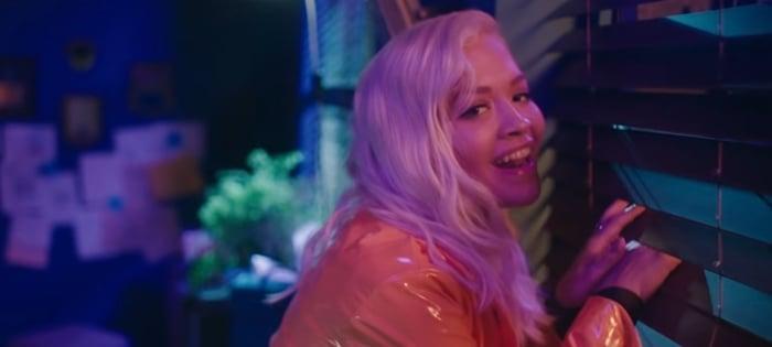 Rita Ora stars as Dr. Ann Laurent in Detective Pikachu