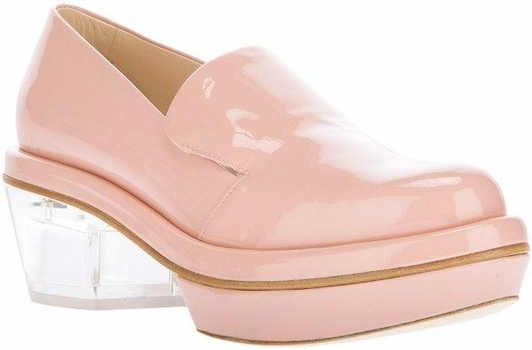 Simone Rocha Pink Loafers