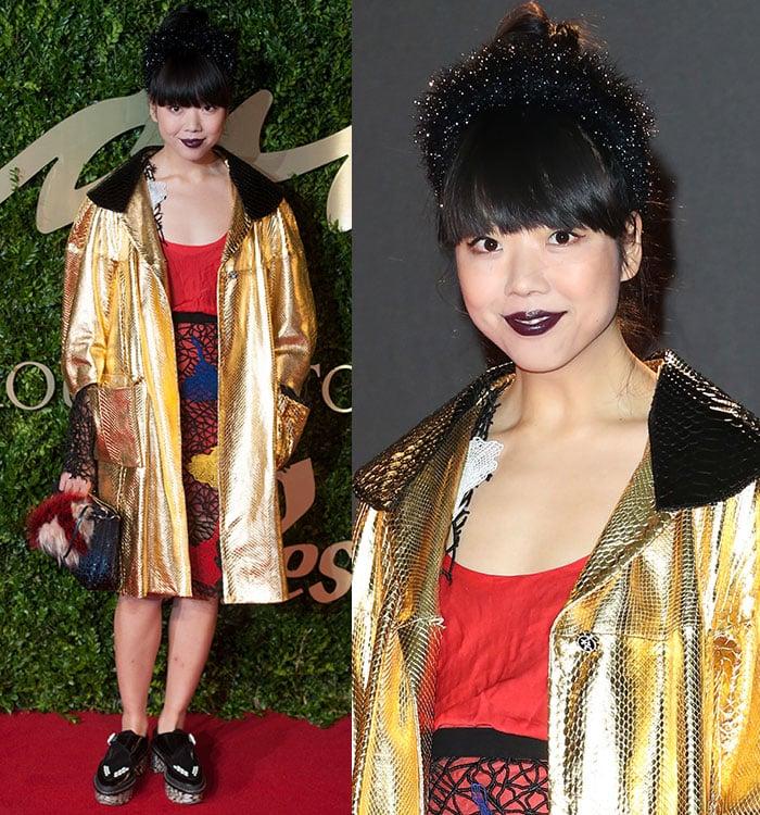 Susie-Lau-2013-British-Fashion-Awards