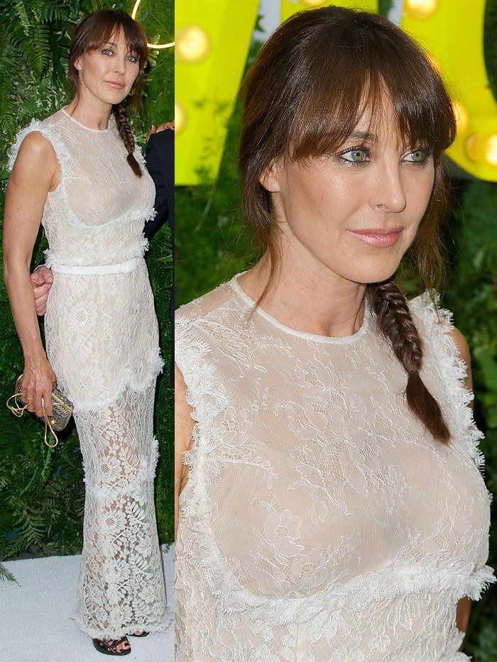 Shoe designer and former Jimmy Choo chief creative officer Tamara Mellon at the 2013 'Party in the Garden' held at The Museum of Modern Art in New York City on May 21, 2013.