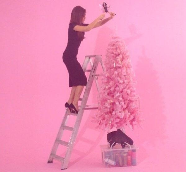 Victoria Beckham Christmas Tree