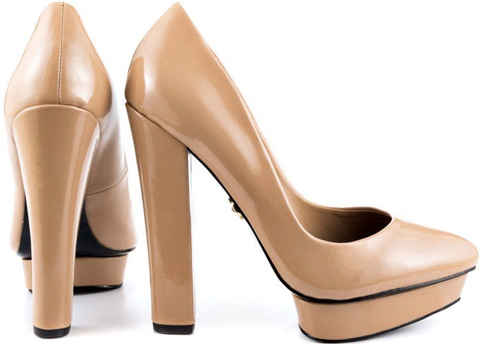 "Adrienne Maloof ""Yelena"" in Nude Patent"