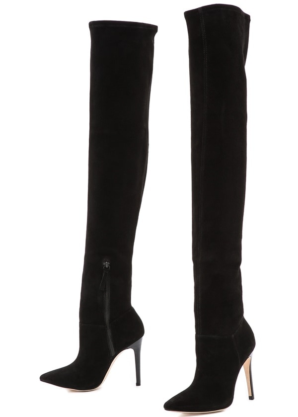 "Alice + Olivia ""Dae"" Stretch Over-the-Knee Boots"