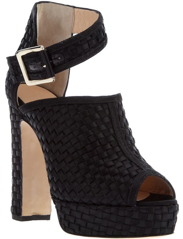 "Bionda Castana ""Christa"" Sandals in Black"