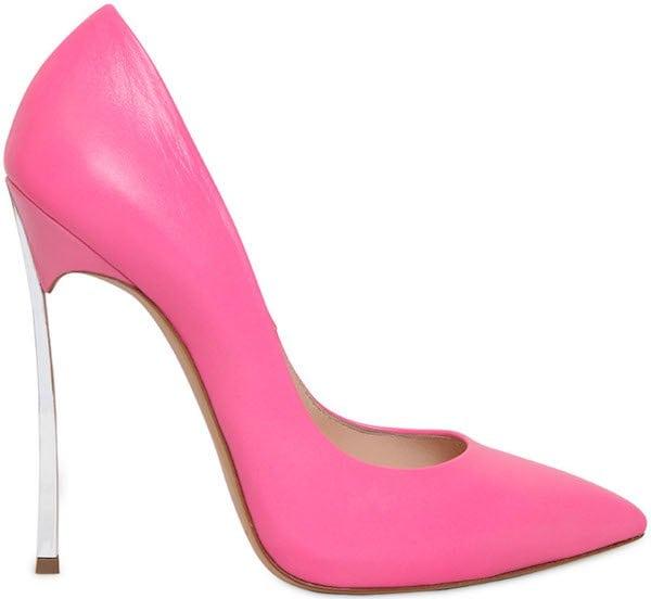 """Casadei """"Blade"""" Pumps in Pink"""