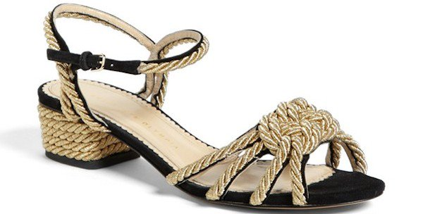 "Charlotte Olympia ""It's Knot Me, It's You"" Sandals"