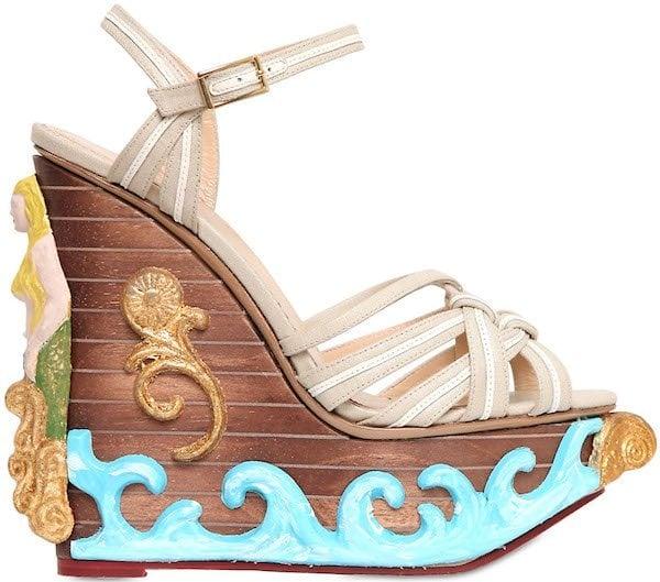 """Charlotte Olympia """"Maiden Voyage"""" Platform Sandals"""