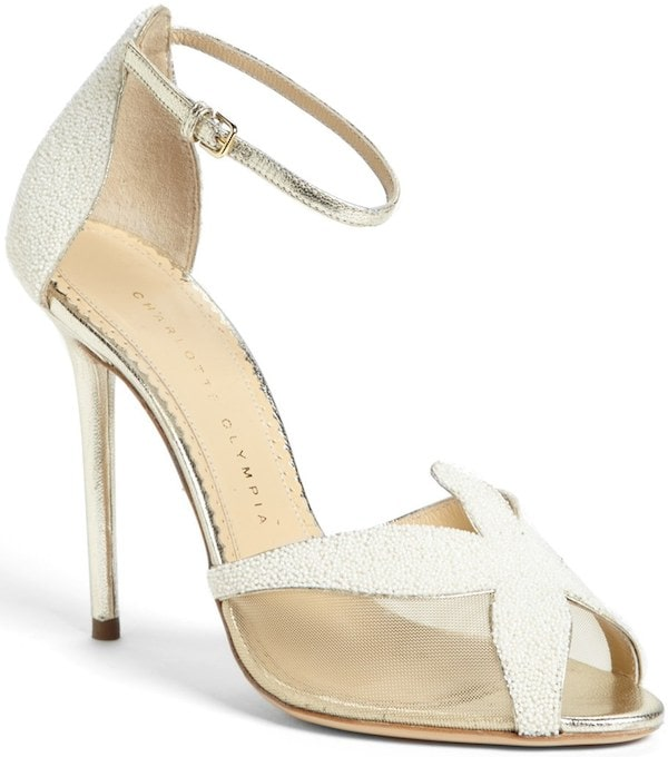 "Charlotte Olympia ""Sandrine"" Starfish Sandals"