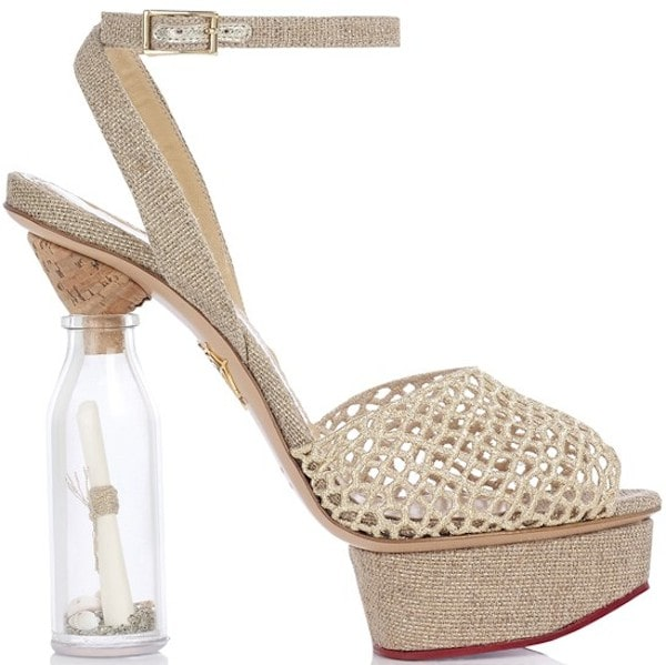 """Charlotte Olympia """"Save Our Shoes"""" Platform Sandals"""