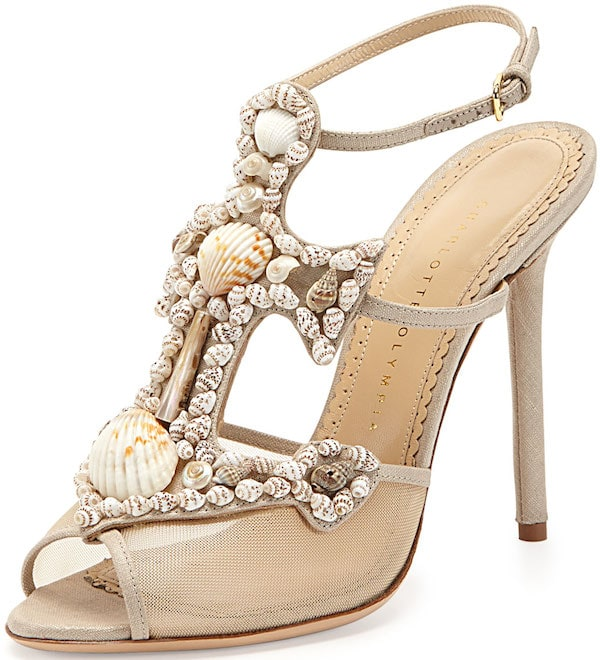 """Charlotte Olympia """"Shore Thing"""" Sandals"""