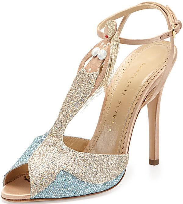 "Charlotte Olympia ""Siren"" Sandals"