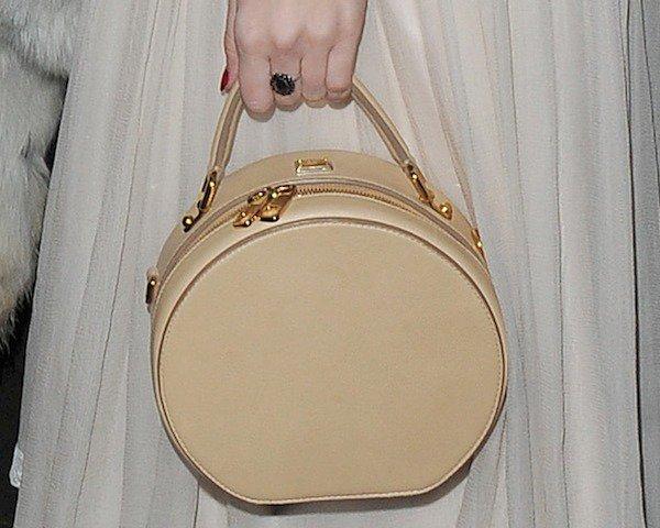 Daisy Lowe totinga circular handbag